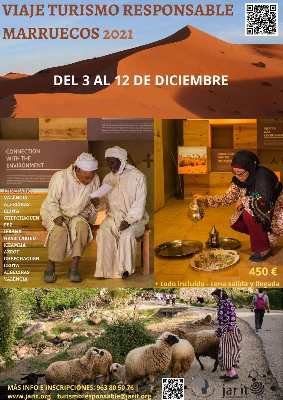 Viaje de Turismo Responsable a Marruecos 2021